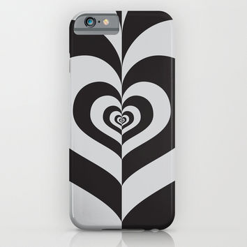 Half A Heart iPhone & iPod Case by Ornaart