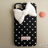 Unique White Bow IPhone 4 Case, IPh.. on Luulla