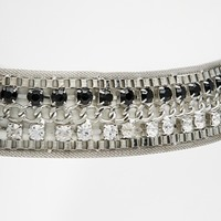 New Look Jewelled Chain Belt at asos.com