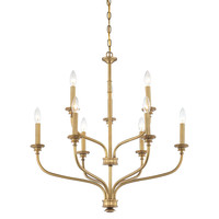 Sofia 9-Light Chandelier, Liberty Gold, Ceiling Chandeliers