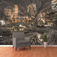 Central Park Wall Mural | The Gadget Flow