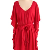 Jack by BB Dakota You and Me Forever Dress in Red | Mod Retro Vintage Dresses | ModCloth.com