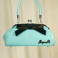 Sourpuss Clothing | Turquoise Floozy Purse Handbag
