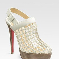Christian Louboutin Coussinet platform slingbacks - &amp;#36;235.00