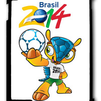 fifa world cup 2014 mascot iPad case, Available for iPad 2, iPad 3, iPad 4 , iPad mini and iPad Air