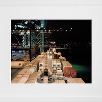 Unloading, Port of Miami, by Shuli Hallak - 20x200
