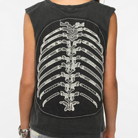 Truly Madly Deeply Back Cage Muscle Tee