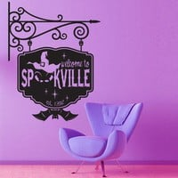 Vinyl Wall Decal Sticker Art  Welcome to by wordybirdstudios