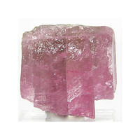 Rubellite Tourmaline Crystal Gem Stone Rough Wrapping Gem Talisman for Amulet from Pala California