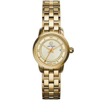 Tory Burch Tory Watch, Gold-tone/ivory, 28 Mm