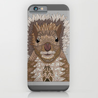 Ornate Squirrel iPhone & iPod Case by ArtLovePassion
