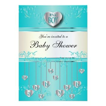 You're Invited To A Baby Shower | It's a Boy