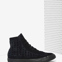 Converse All Star High-Top Suede Sneaker - Woven