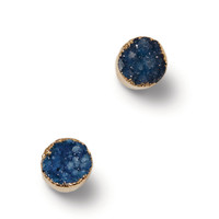 Druzy Stone Gold Plated Earrings   TOMS