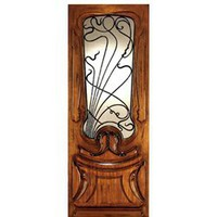 AN-2014 | Art Nouveau Doors | Entry Door