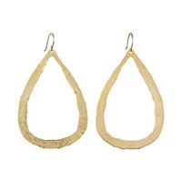 Hammered Hoops Earrings in For You Shop by Category Jewelry Earrings at Terrain