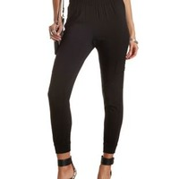 Cargo Jogger Pants by Charlotte Russe - Black