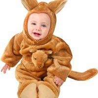 Unique Baby Infant Kangaroo Animal Halloween Holiday Costume Party (12-18M)