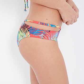 Tropical Foliage Low-Rise Cheeky Bottoms