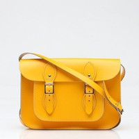 The Leather Satchel Co. / 11 Inch Standard in Yellow