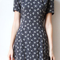 tea and tulips boutique - one of a kind vintage.  dots and florals dress