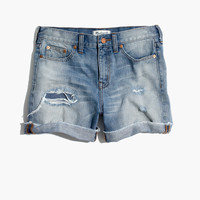 Denim Boyshorts: Rip and Repair Edition