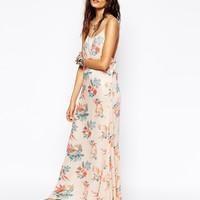 Free People Maxi Dress in Floral Print