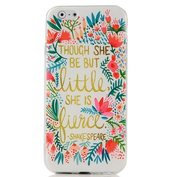 iPhone 6 Case, iPhone 6 (4.7'') Case - MOLLYCOOCLE Fashion Style Colorful Painted Red Flowers Pattern TPU Soft Cover Case for iPhone 6 4.7''(Red Flowers)
