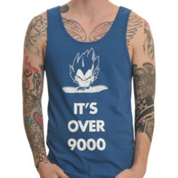 Dragonball Z It's Over 9000 Tank Top 3XL