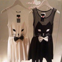 Cat Dress by Black Cat Boutique