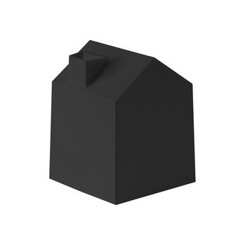 Tissue Paper House in Black