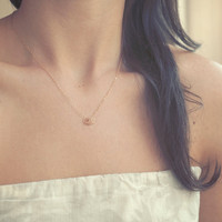 Stardust Rings - Minimal 14k Gold Filled Necklace from Made By Maru