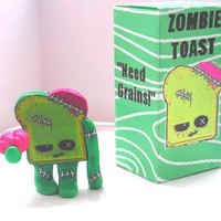 Zombie Toast V2 by sleepyrobot13 on Etsy