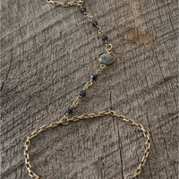 gold-color hand jewelry - Lacey Ryan Collection