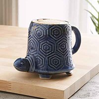 Plum & Bow Reactive Turtle Mug- Multi One