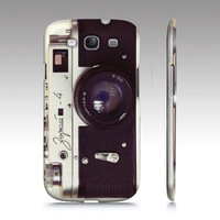 Samsung Galaxy S3 case, Samsung Galaxy S3, vintage camera, Galaxy case, skin, cover, Zorki camera, bomobob, rangefinder, Galaxy S3 accessory