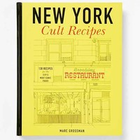 New York Cult Recipes By Marc Grossman- Assorted One