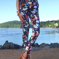 floral pant
