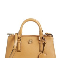 Women's Tory Burch 'Robinson - Micro' Double Zip Tote