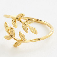 ModCloth Boho The Leaf I Can Do Ring