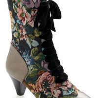 What's on Tapestry Boot | Mod Retro Vintage Boots | ModCloth.com