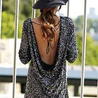 Free People Sequined Impressions Dress