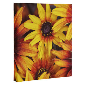 Shannon Clark Sunshine Petals Art Canvas