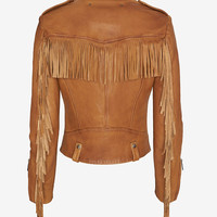 Barbara Bui EXCLUSIVE Fringe Jacket at INTERMIX | Shop Now | Shop IntermixOnline.com