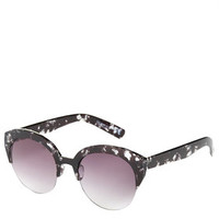 Curve Soft Clubmaster Sunglasses - Black
