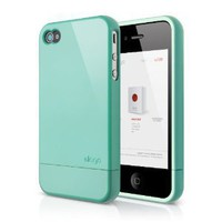 Amazon.com: elago S4 Glide Case for iPhone 4/4S AT&T, Sprint and Verizon - Coral Blue: Cell Phones & Accessories
