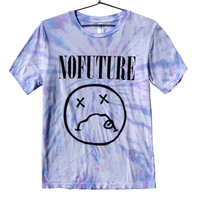 No Future Nirvana Parody Tie Dye (ATTN: notate SIZE during checkout)