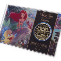 Disney Ariel Little Mermaid Princess 24k Gold Coin #710 Limited Edition