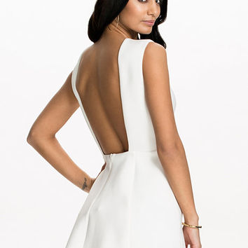Bare Back Structure Dress, NLY One