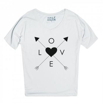 Shot With Love-Unisex Snow T-Shirt